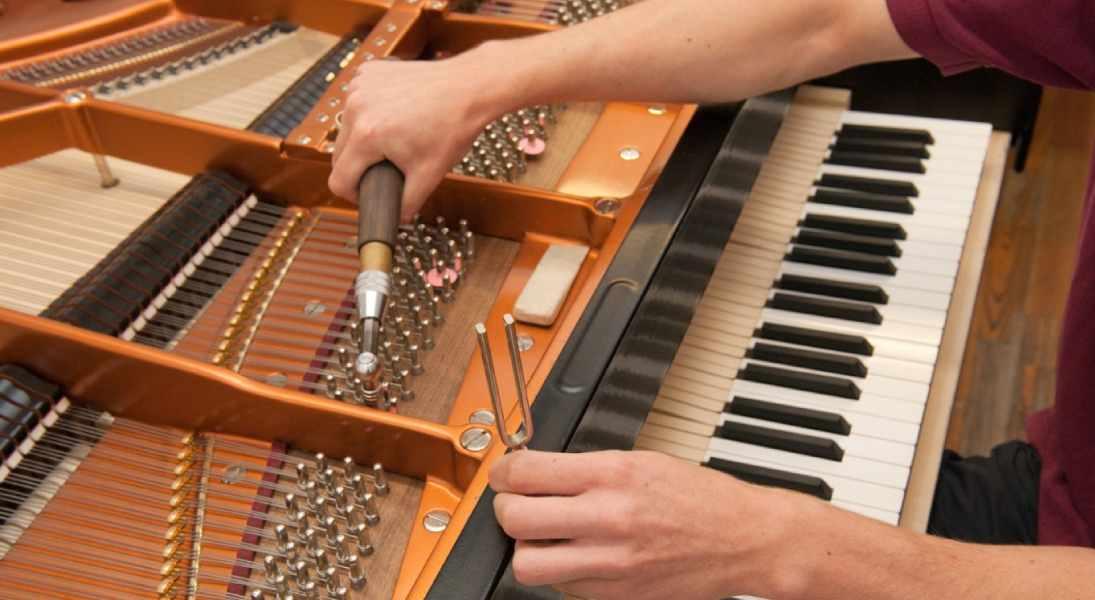 نحوه کوک و رگلاژ پیانو
