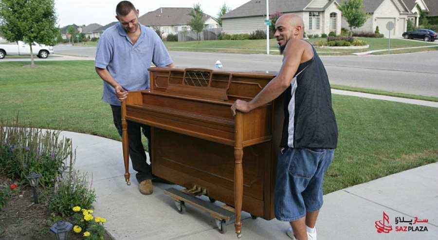 حمل پیانو به روش نا صحیح چه مضراتی داره؟
