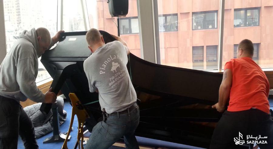 حمل پیانو به آسان ترین روش ممکن